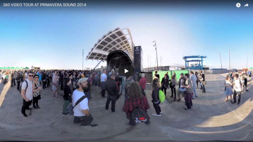 360 VIDEO TOUR AT PRIMAVERA SOUND - CARDBOARD360